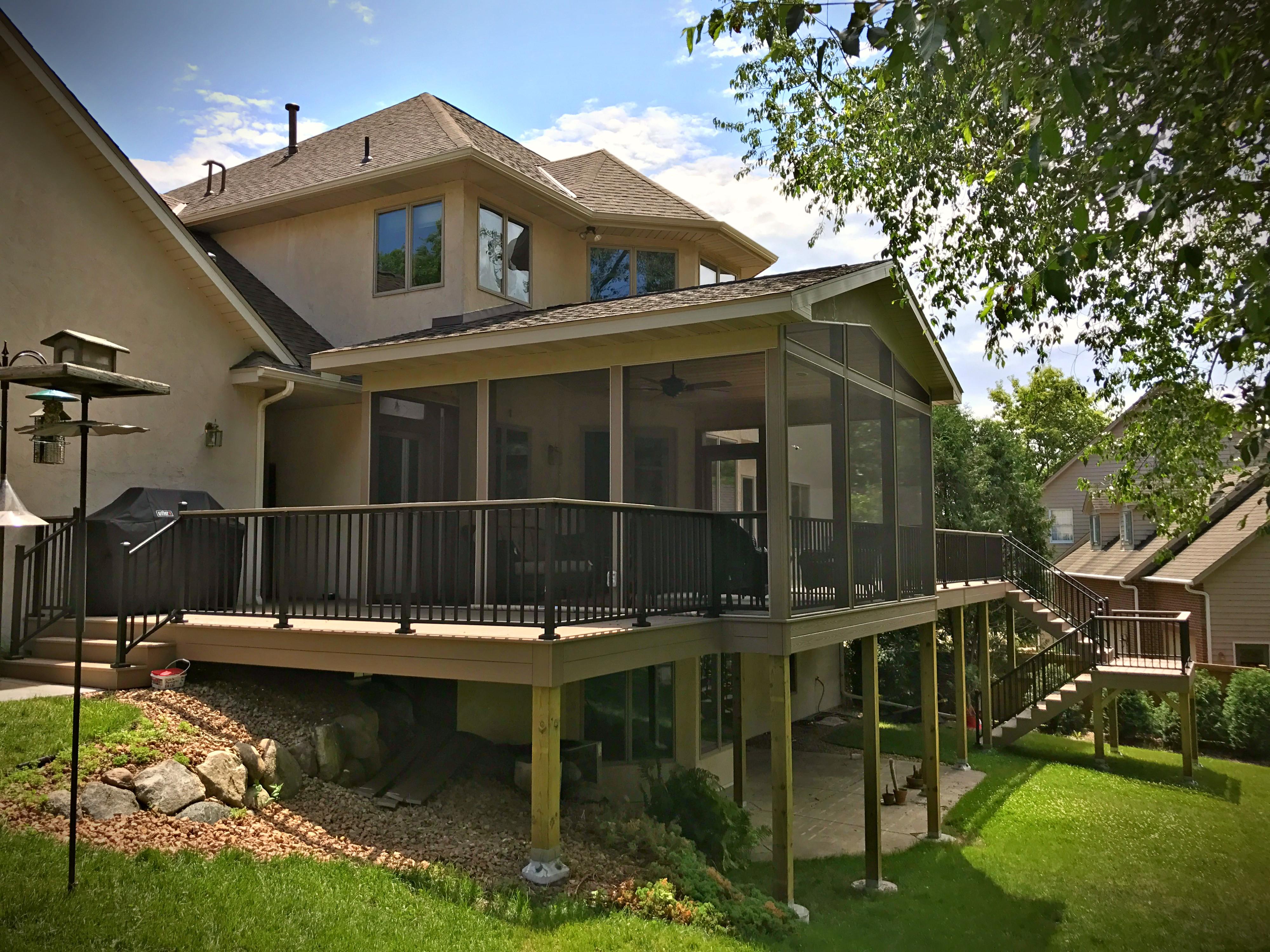 decks porches diamond pier. Black Bedroom Furniture Sets. Home Design Ideas