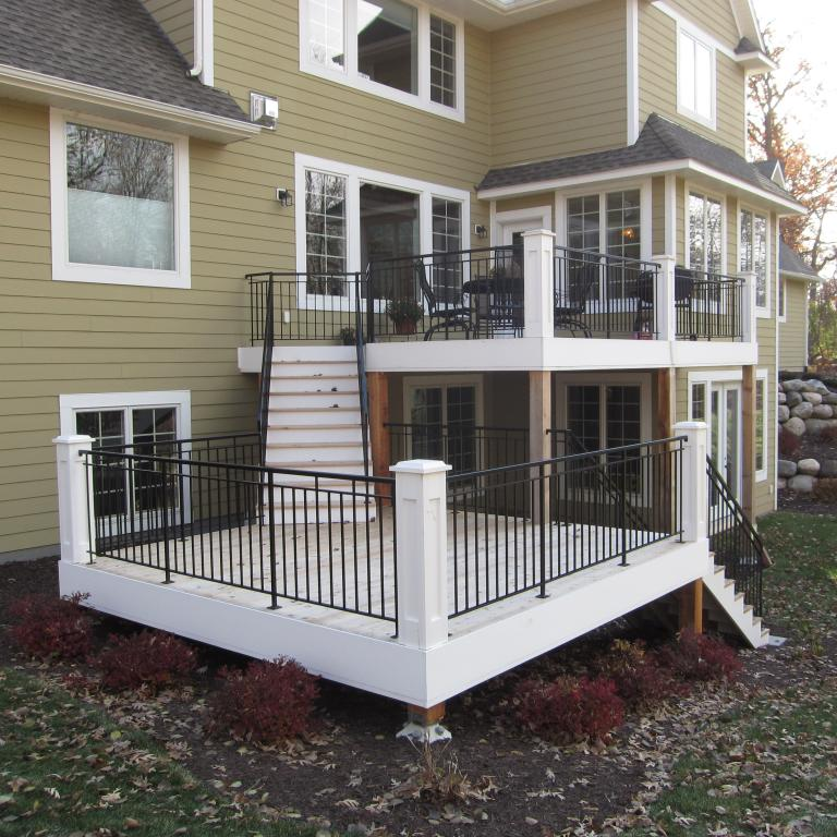 Jansick Inc - Deck - Diamond Piers